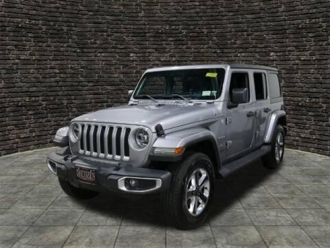 2018 Jeep Wrangler Unlimited for sale at Montclair Motor Car in Montclair NJ
