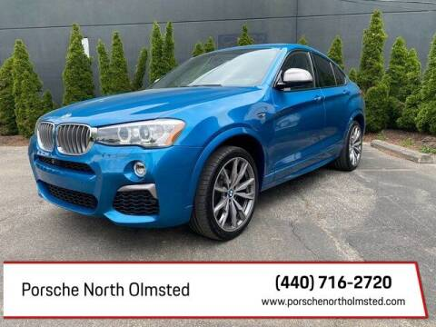 2016 BMW X4 for sale at Porsche North Olmsted in North Olmsted OH