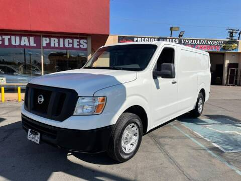 2016 Nissan NV Cargo for sale at Sanmiguel Motors in South Gate CA