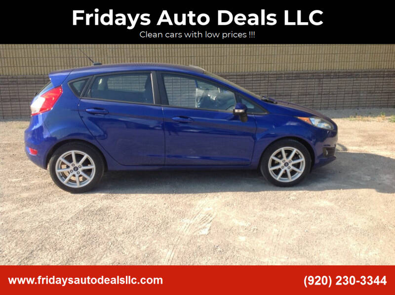 2015 Ford Fiesta for sale at Fridays Auto Deals LLC in Oshkosh WI