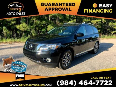 2015 Nissan Pathfinder for sale at Drive 1 Auto Sales in Wake Forest NC