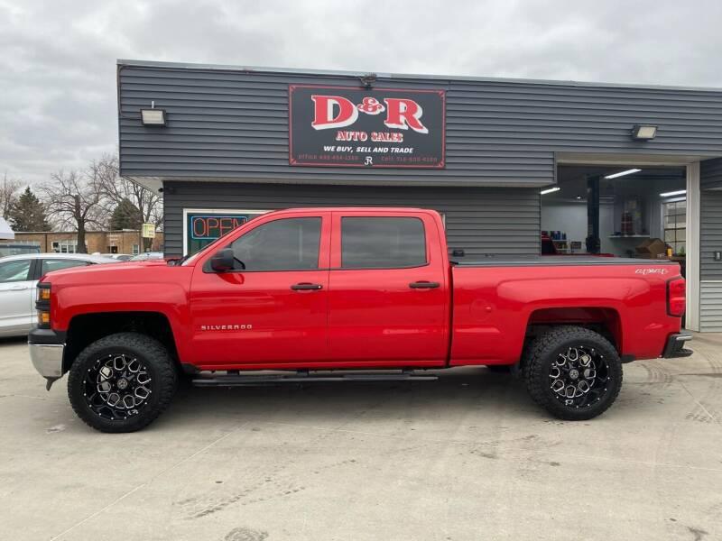 2014 Chevrolet Silverado 1500 for sale at D & R Auto Sales in South Sioux City NE