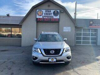 2020 Nissan Pathfinder for sale at Utah Credit Approval Auto Sales in Murray UT