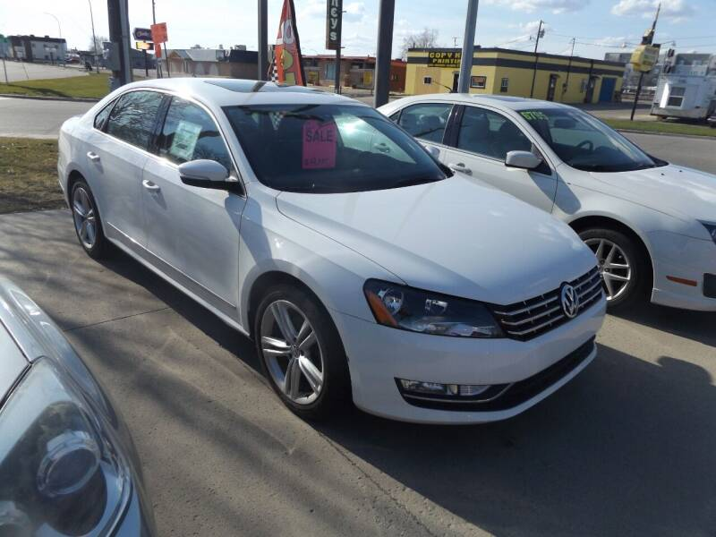 2014 Volkswagen Passat for sale at Relaxation Automobile Station in Moorhead MN