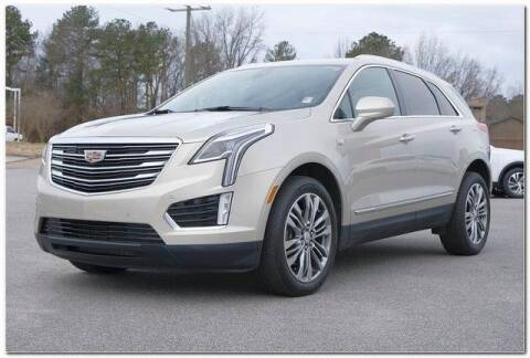 2017 Cadillac XT5 for sale at WHITE MOTORS INC in Roanoke Rapids NC