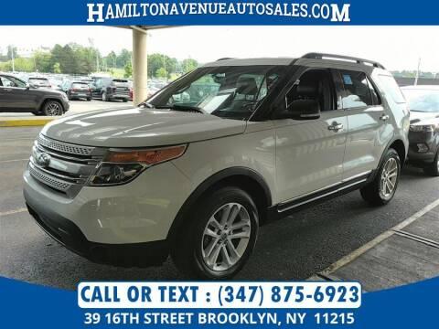 2013 Ford Explorer for sale at Hamilton Avenue Auto Sales in Brooklyn NY