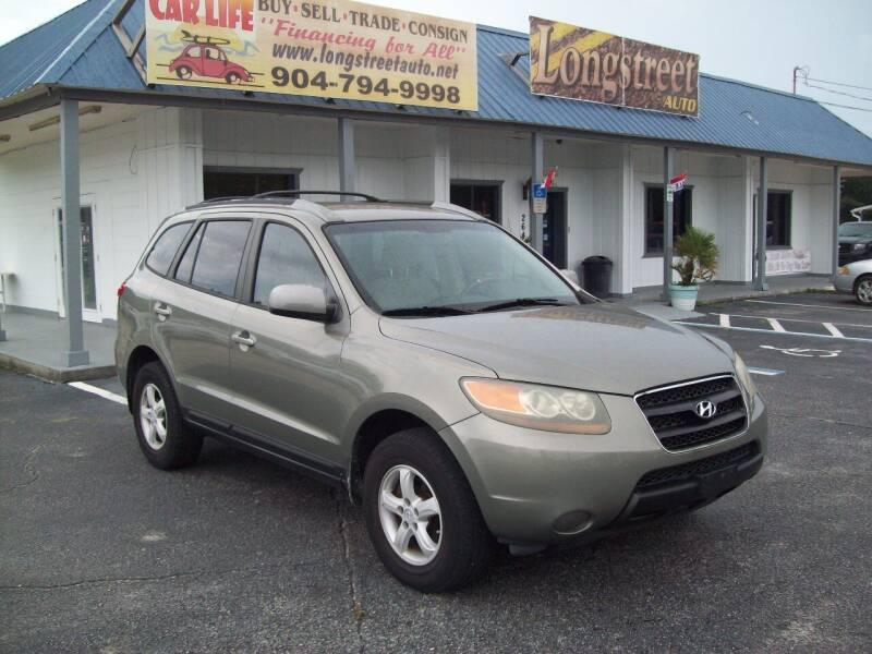 2007 Hyundai Santa Fe for sale at LONGSTREET AUTO in Saint Augustine FL