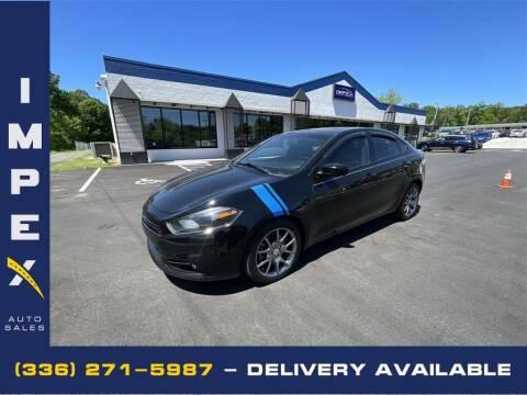 2014 Dodge Dart for sale at Impex Auto Sales in Greensboro NC