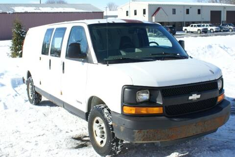 2005 Chevrolet Express Cargo for sale at MARK CRIST MOTORSPORTS in Angola IN