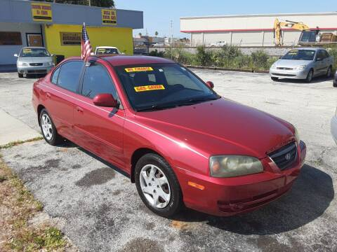 2005 Hyundai Elantra for sale at Easy Credit Auto Sales in Cocoa FL