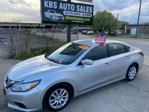 2016 Nissan Altima for sale at KBS Auto Sales in Cincinnati OH