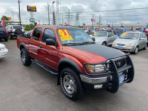 2001 Toyota Tacoma for sale at Texas 1 Auto Finance in Kemah TX