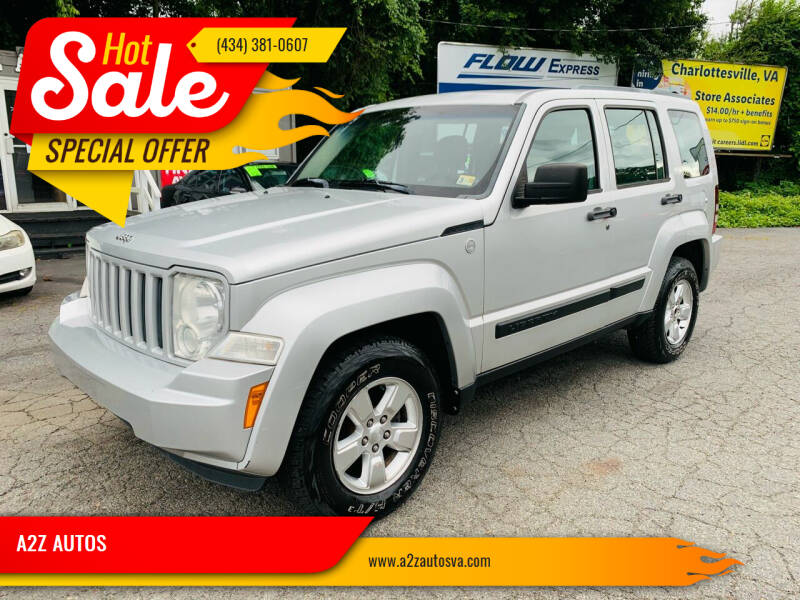 2011 Jeep Liberty for sale at A2Z AUTOS in Charlottesville VA