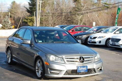 2013 Mercedes-Benz C-Class for sale at Amati Auto Group in Hooksett NH