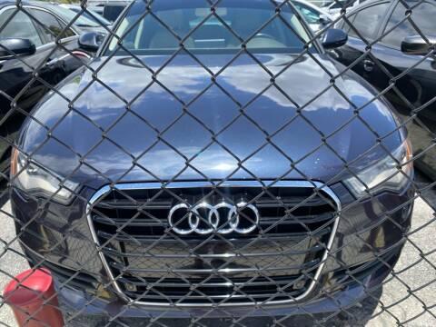 2013 Audi A6 for sale at America Auto Wholesale Inc in Miami FL
