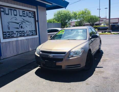 2008 Chevrolet Malibu for sale at AUTO LEADS in Pasadena TX