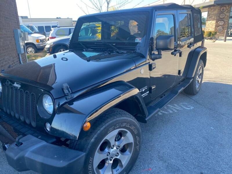 2017 Jeep Wrangler Unlimited for sale at Z Motors in Chattanooga TN