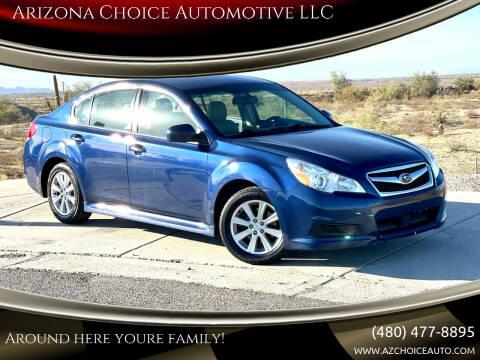 2011 Subaru Legacy for sale at Arizona Choice Automotive LLC in Mesa AZ