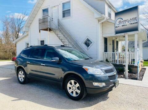 2011 Chevrolet Traverse for sale at BARKLAGE MOTOR SALES in Eldon MO