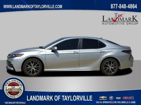 2021 Toyota Camry for sale at LANDMARK OF TAYLORVILLE in Taylorville IL