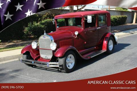 1929 Ford Model A for sale at American Classic Cars in La Verne CA