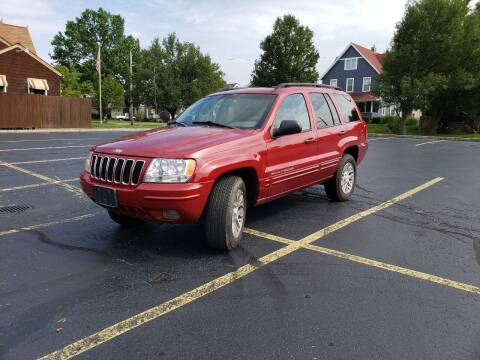 2002 Jeep Grand Cherokee for sale at USA AUTO WHOLESALE LLC in Cleveland OH