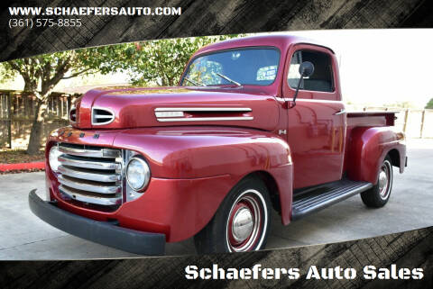 1949 Ford F-100 for sale at Schaefers Auto Sales in Victoria TX