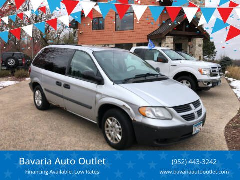 2005 Dodge Caravan for sale at Bavaria Auto Outlet in Victoria MN