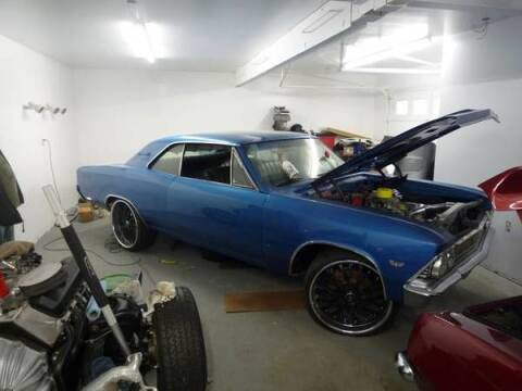 1966 Chevrolet Malibu for sale at Haggle Me Classics in Hobart IN