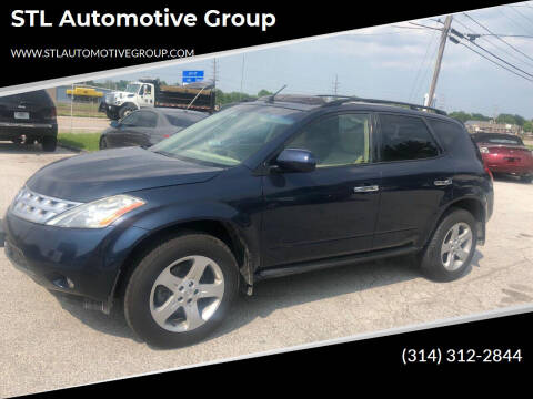 2005 Nissan Murano for sale at STL Automotive Group in O'Fallon MO