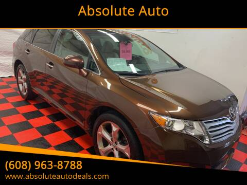 2010 Toyota Venza for sale at Absolute Auto in Baraboo WI