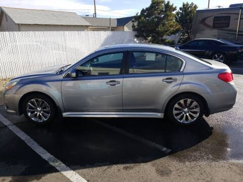 2011 Subaru Legacy for sale at Freds Auto Sales LLC in Carson City NV