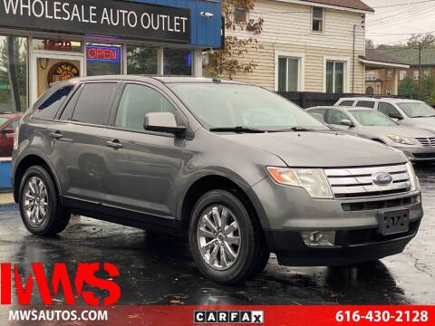2010 Ford Edge for sale at MWS Wholesale  Auto Outlet in Grand Rapids MI