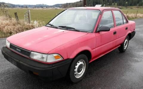 1990 Toyota Corolla for sale at State Street Auto Sales in Centralia WA