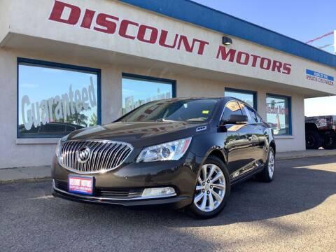 2014 Buick LaCrosse for sale at Discount Motors in Pueblo CO