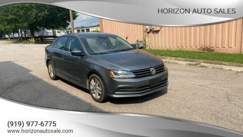 2017 Volkswagen Jetta for sale at Horizon Auto Sales in Raleigh NC