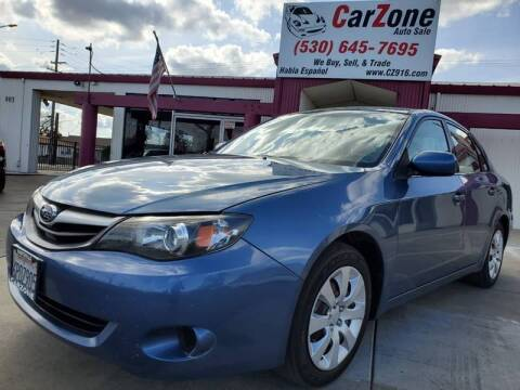 2010 Subaru Impreza for sale at CarZone in Marysville CA
