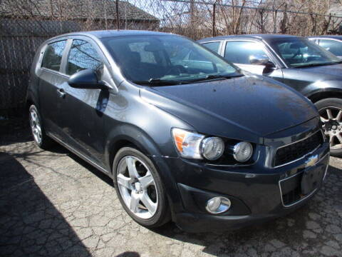 2015 Chevrolet Sonic for sale at SOUTHFIELD QUALITY CARS in Detroit MI