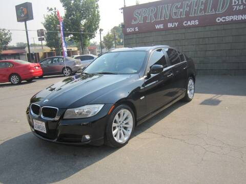 2011 BMW 3 Series for sale at SPRINGFIELD BROTHERS LLC in Fullerton CA