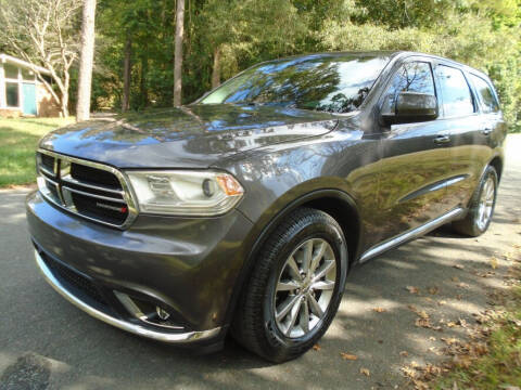 2017 Dodge Durango for sale at City Imports Inc in Matthews NC