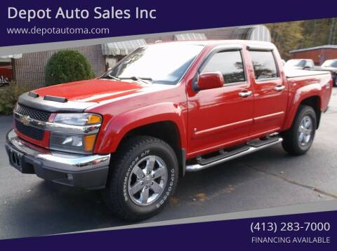2009 Chevrolet Colorado for sale at Depot Auto Sales Inc in Palmer MA
