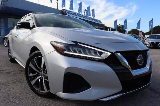 2020 Nissan Maxima for sale at OCEAN AUTO SALES in Miami FL