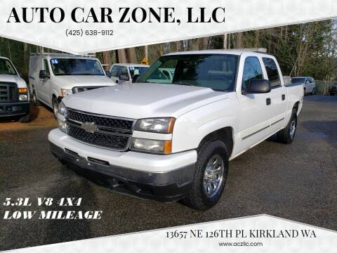 2006 Chevrolet Silverado 1500 for sale at Auto Car Zone, LLC in Kirkland WA