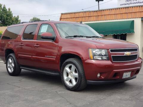 2008 Chevrolet Suburban for sale at First Shift Auto in Ontario CA
