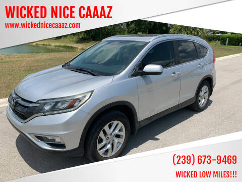 2016 Honda CR-V for sale at WICKED NICE CAAAZ in Cape Coral FL