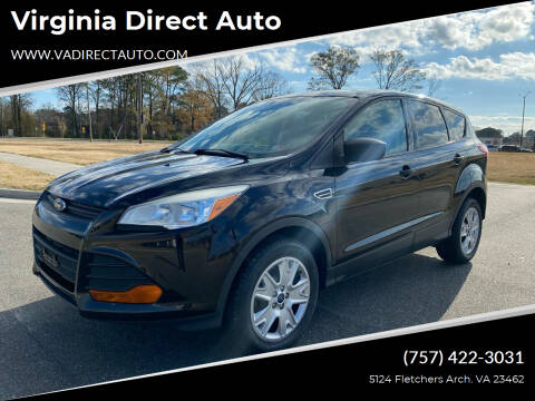 2013 Ford Escape for sale at Virginia Direct Auto in Virginia Beach VA