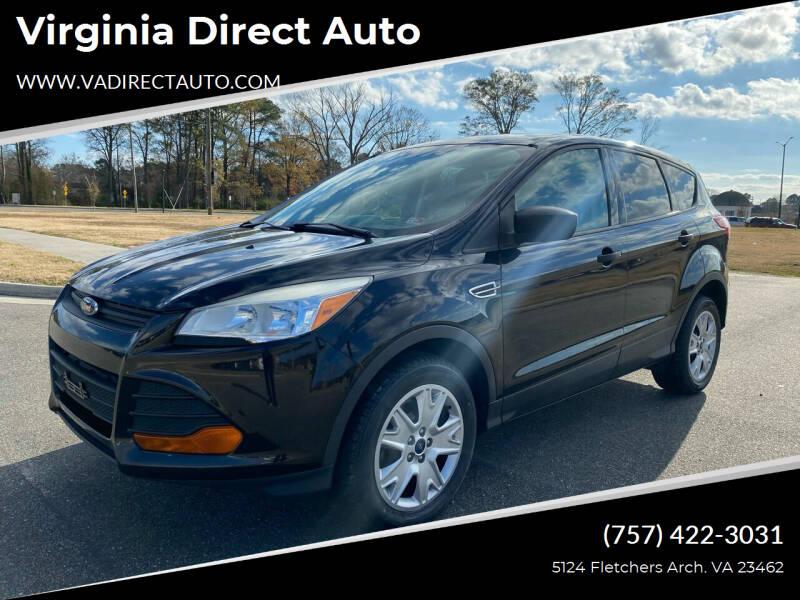2013 Ford Escape for sale at Virginia Direct Auto in Virginia Beach VA