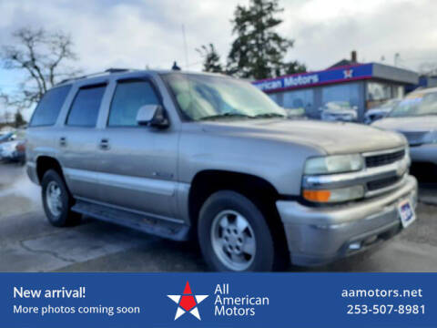 2003 Chevrolet Tahoe for sale at All American Motors in Tacoma WA