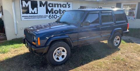 2001 Jeep Cherokee for sale at Mama's Motors in Greer SC