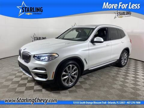 2019 BMW X3 for sale at Pedro @ Starling Chevrolet in Orlando FL